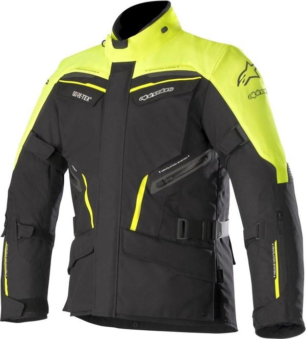 ALPINESTARS Patron Gore-Tex Jacket Jaune Fluo-Noir