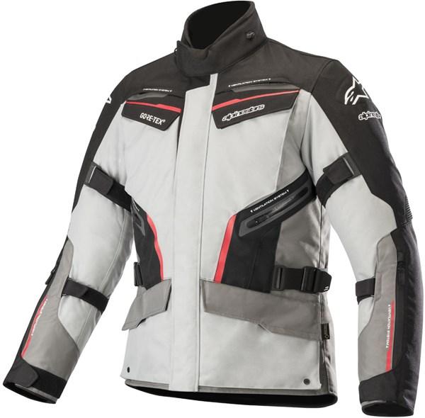 ALPINESTARS Patron Gore-Tex Jacket Gris-Noir-Rouge