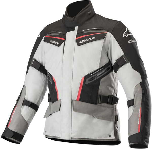ALPINESTARS Patron Gore-Tex Jacket Grijs-Zwart-Rood