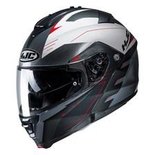 HJC IS-Max 2 Cormi sans Pinlock Mat Noir - Blanc - Gris