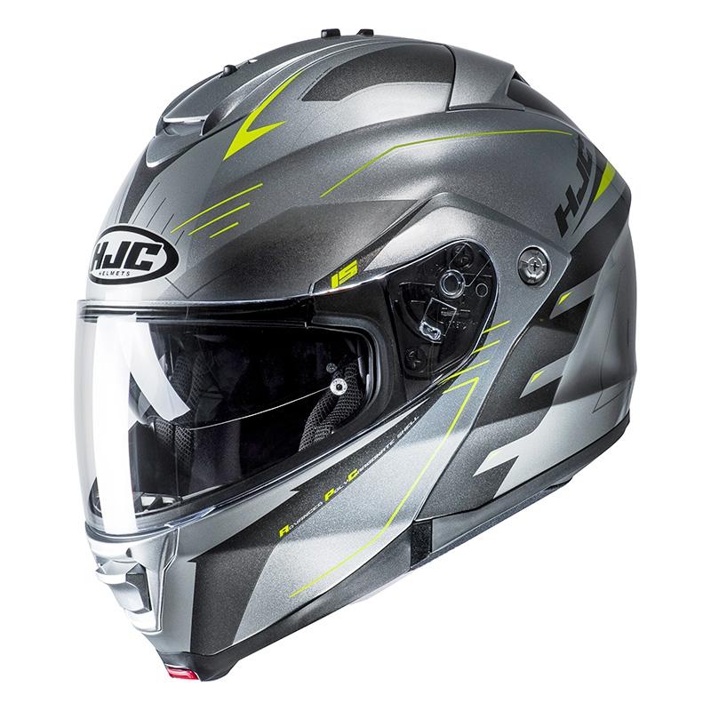 Visi/ère Quick Release /Couleur fonc/ée fum/é Pour casque de moto Hj-09/ Visi/ère de remplacement Hjc