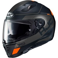 I70 Karon Mat Zwart - Grijs - Oranje