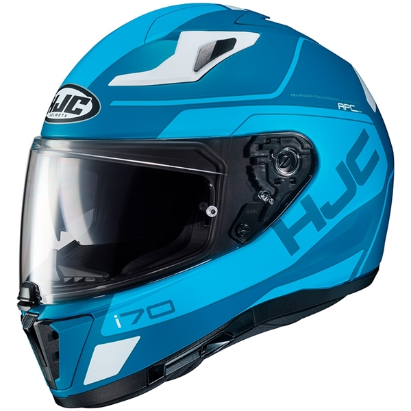 HJC I70 Karon Mat Blauw - Wit