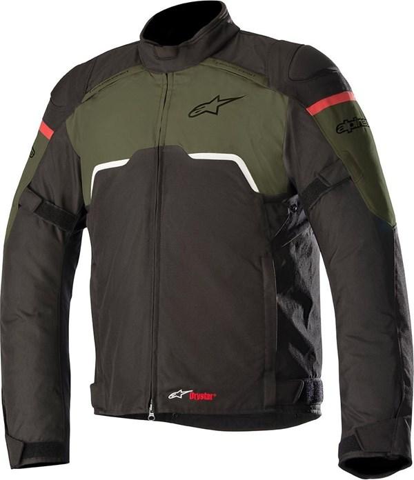 ALPINESTARS Hyper Drystar Jacket Zwart-Groen