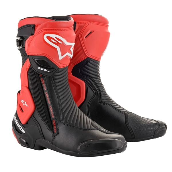 ALPINESTARS SMX Plus V2 Noir-Rouge