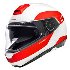 SCHUBERTH C4 Pro Fragment Mat Wit - Rood