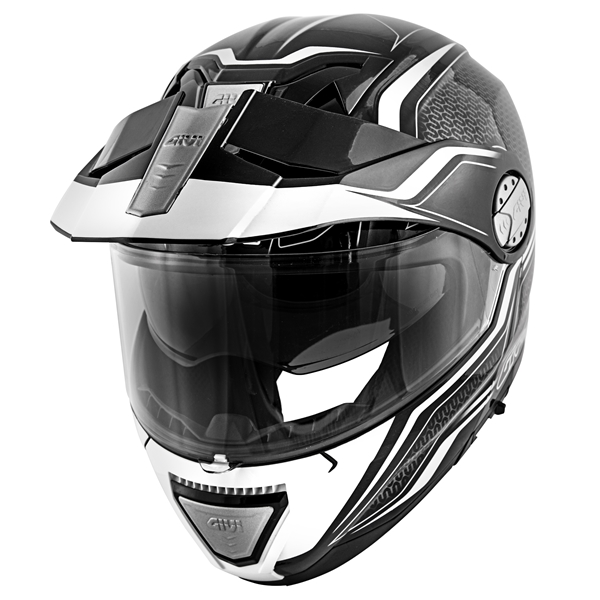 GIVI X.33  Canyon Layers Noir-Blanc