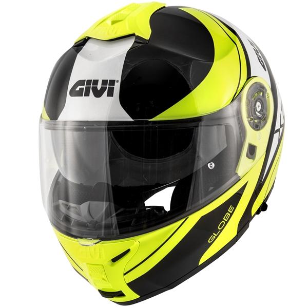 GIVI X.21 Challenger Globe Noir-Jaune-Blanc