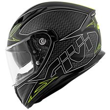 GIVI 50.6 Stoccarda Splinter Noir Mat-Jaune