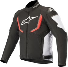 ALPINESTARS T-GP R V2 Waterproof Noir-Blanc-Rouge