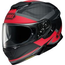 SHOEI GT-Air II Affair Mat Noir-Rouge TC-1