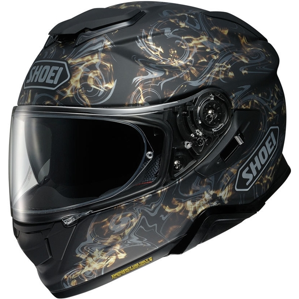 SHOEI GT-Air II Conjure Mat Noir-Or TC-9
