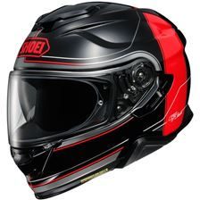 SHOEI GT-Air II Crossbar Zwart-Rood TC-1