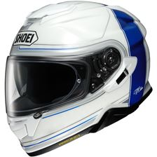 SHOEI GT-Air II Crossbar Blanc-Bleu TC-2