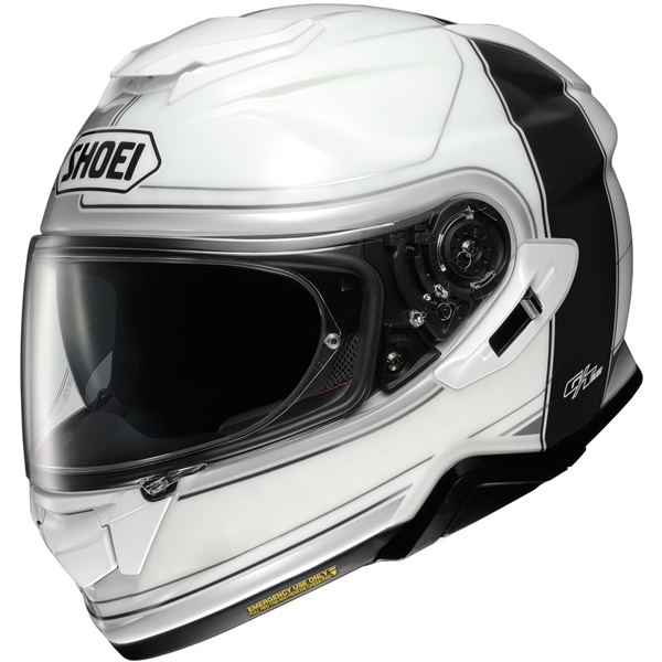 SHOEI GT-Air II Crossbar Wit-Zwart TC-6