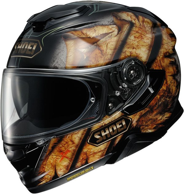 SHOEI GT-Air II Deviation Zwart-Bruin TC-9
