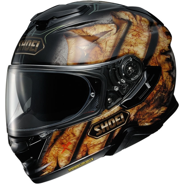 SHOEI GT-Air II Deviation Noir-Marron TC-9