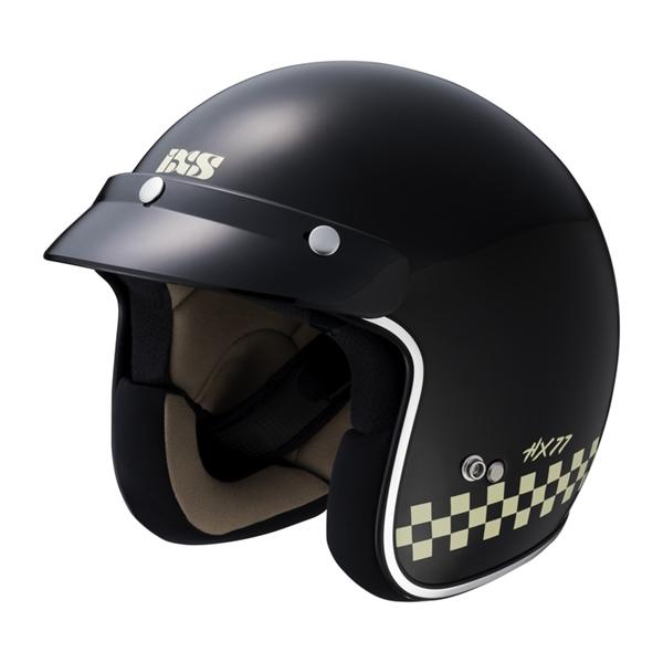 IXS iXS 77 2.0 Mat Noir - Blanc