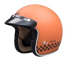 IXS iXS 77 2.0 Mat Orange - Noir