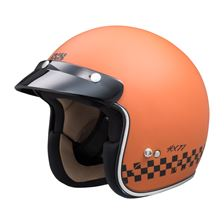 IXS iXS 77 2.0 Mat Orange - Noir
