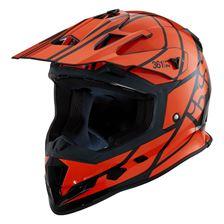 IXS iXS 361 2.1 Zwart - Oranje