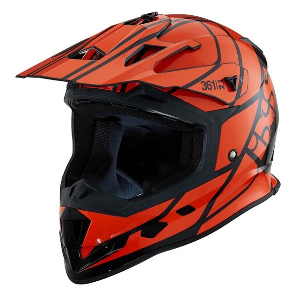 ccf6d65c125716 IXS iXS 361 2.1 Zwart - Oranje