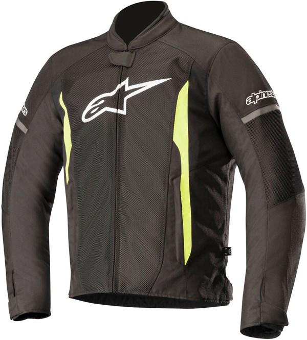 ALPINESTARS T-Faster Air Jacket Zwart-Geel Fluo