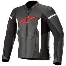 ALPINESTARS Faster Jacket Zwart-Helder Rood