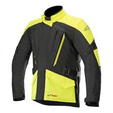 ALPINESTARS Volcano Drystar Jacket Zwart-Geel Fluo