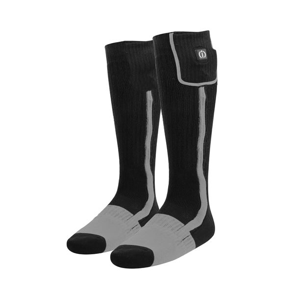 KLAN Chaussettes chauffantes Noir