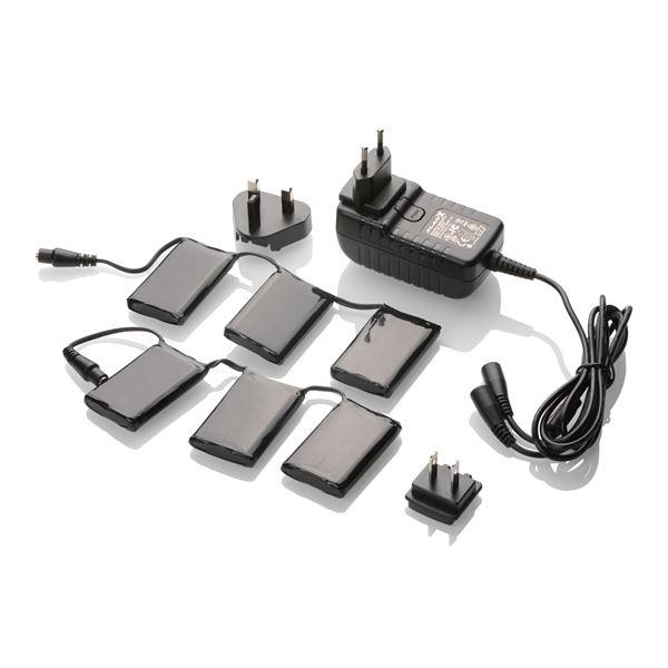 KLAN Set batterijen + lader 12V 3A