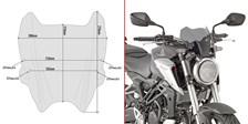 Windscherm - Naked bike - A A1164