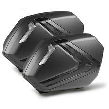 GIVI V37 valises carbon look reflecteurs fumé
