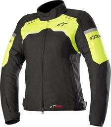 ALPINESTARS Stella Hyper Drystar Jacket Noir-Jaune Fluo