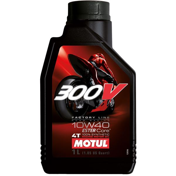 MOTUL 10W-40 synthetisch 300V Factory line road racing 1 liter