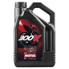 MOTUL 15W-50 300V Factory road racing synthétique 4 litres