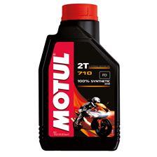 MOTUL 2T synthétique 710 1 litre