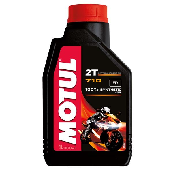 MOTUL 2T synthetisch 710 1 liter