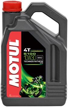 MOTUL 10W-30 semi-synthetisch 5100 4 liter