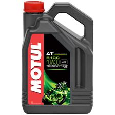 MOTUL 10W-30 semi-synthétique 5100 4 litres