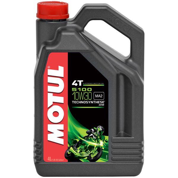 MOTUL 10W-30 semi-synthétique 5100 4 litres
