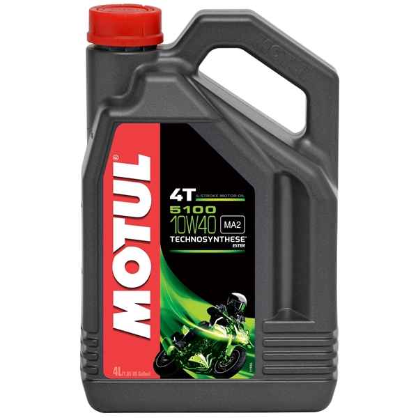 MOTUL 10W-40 semi-synthétique 5100 4 litres