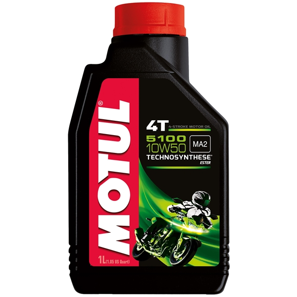 MOTUL 10W-50 semi-synthetisch 5100 1 liter
