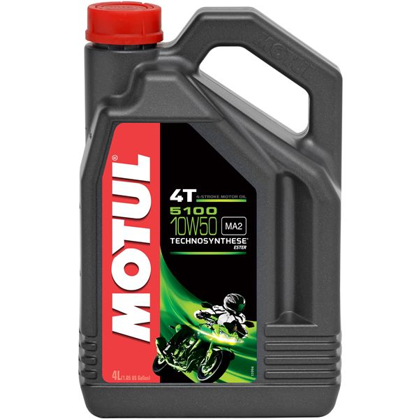 MOTUL 10W-50 semi-synthetisch 5100 4 liter