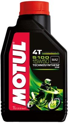 MOTUL 15W-50 semi-synthétique 5100 1 litre
