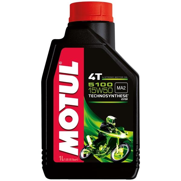MOTUL 15W-50 semi-synthetisch 5100 1 liter