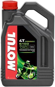 MOTUL 15W-50 semi-synthetisch 5100 4 liter
