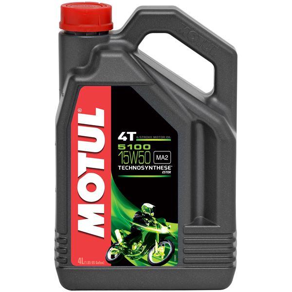MOTUL 15W-50 semi-synthétique 5100 4 litres