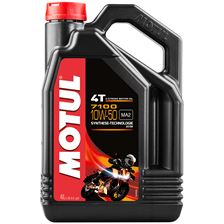 MOTUL 10W-50 synthétique 7100 4 litres