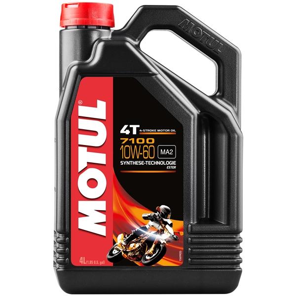 MOTUL 10W-60 synthetisch 7100 4 liter